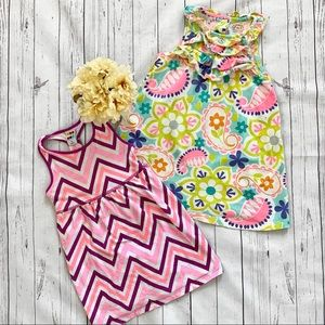 🎀 4T Girls Print Dress Bundle